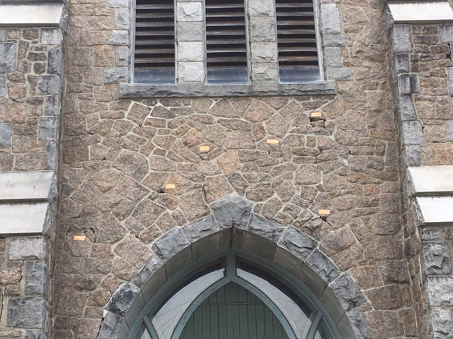 Bell Tower East above door - 6 block.JPG