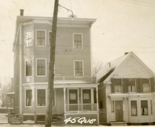 45 Quebec Street in 1924