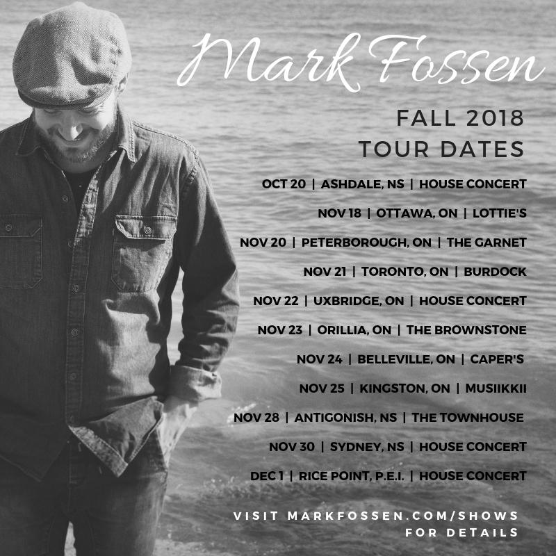 Fall 2018 Tour w/ Rachel Beck.