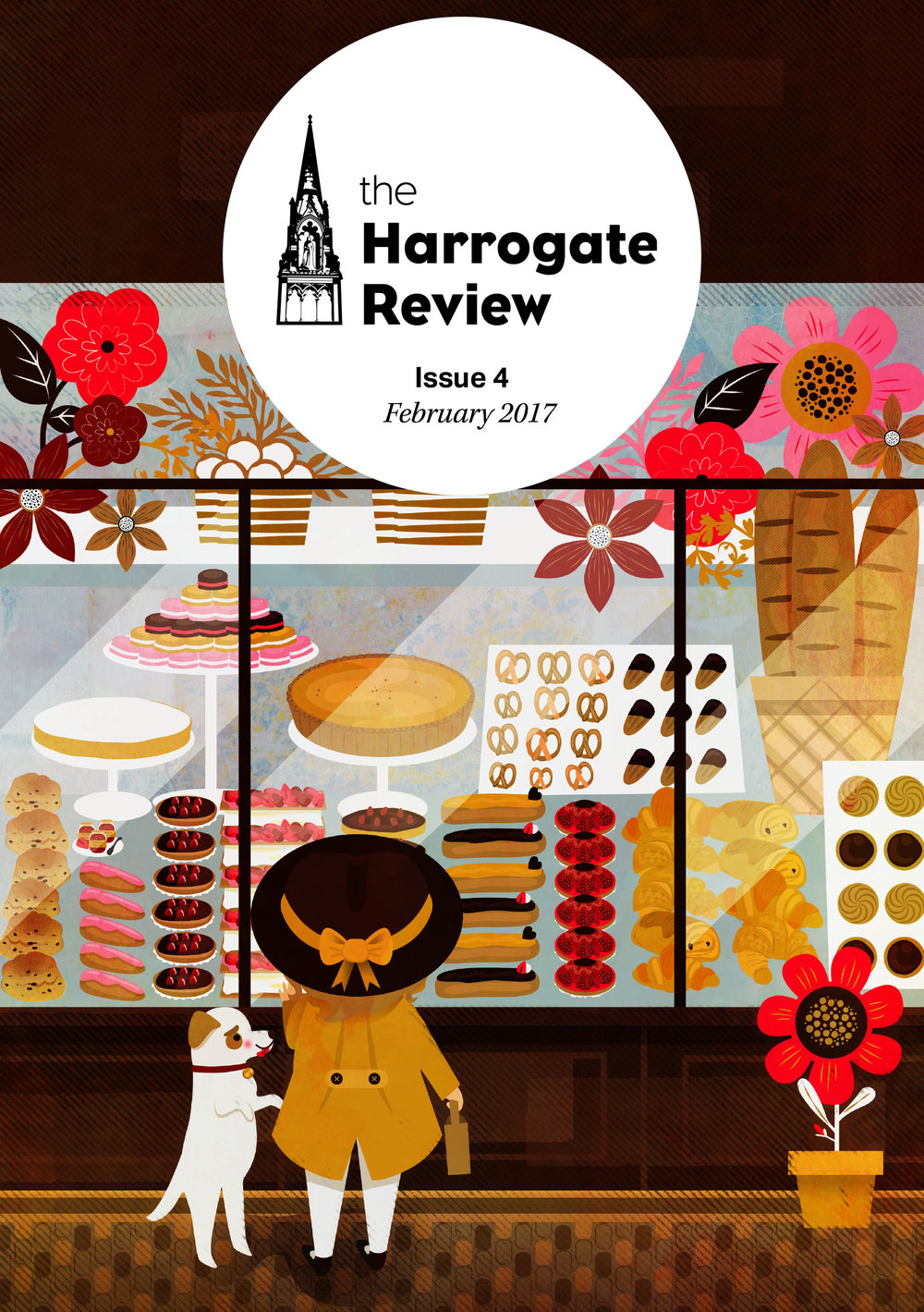 The Harrogate Review Cover Illustration