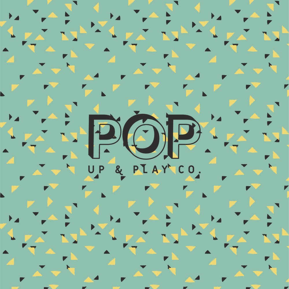 Pop Green Triangle Pattern Sq@2x.png
