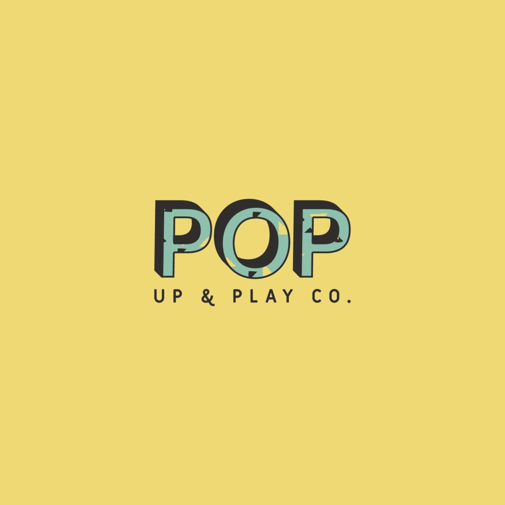 Pop Up & Play Co. Branding