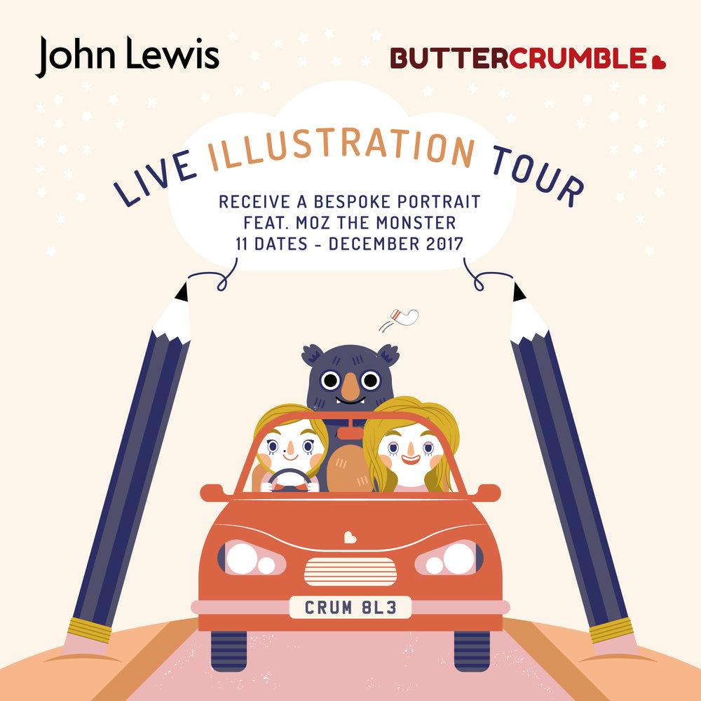 Buttercrumble John Lewis