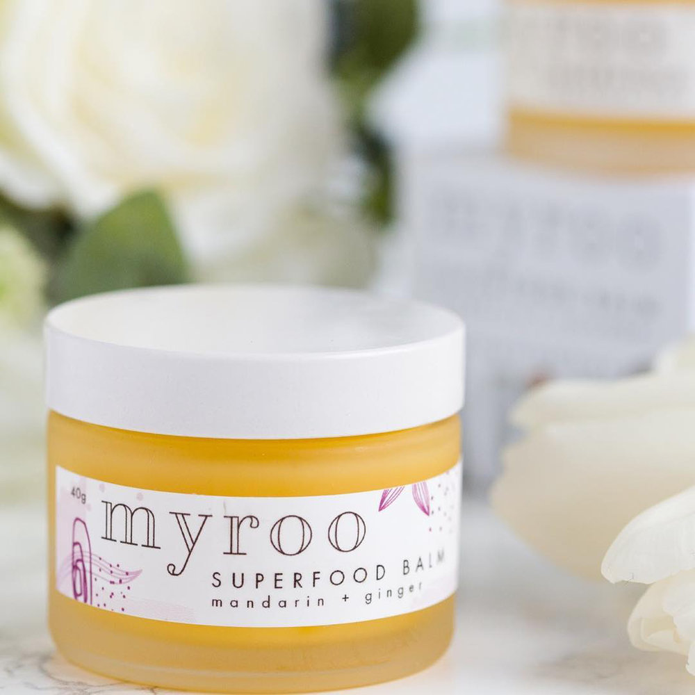 Myroo Buttercrumble Packaging Design