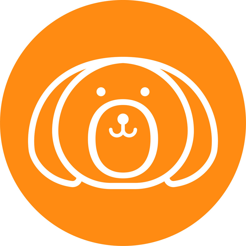 Bob & Lulu - Brandmark - Sticker - White - Orange.jpg