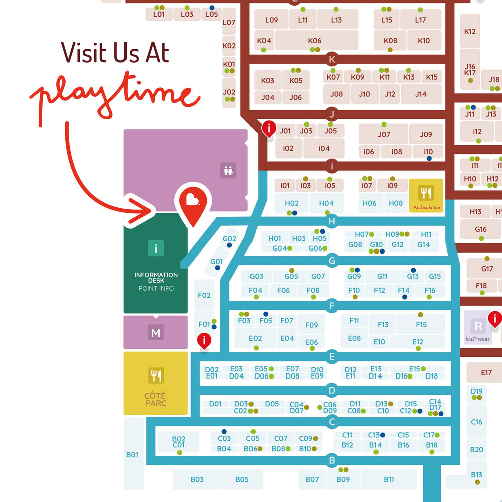 Playtime Paris - Where To Find Buttercrumble