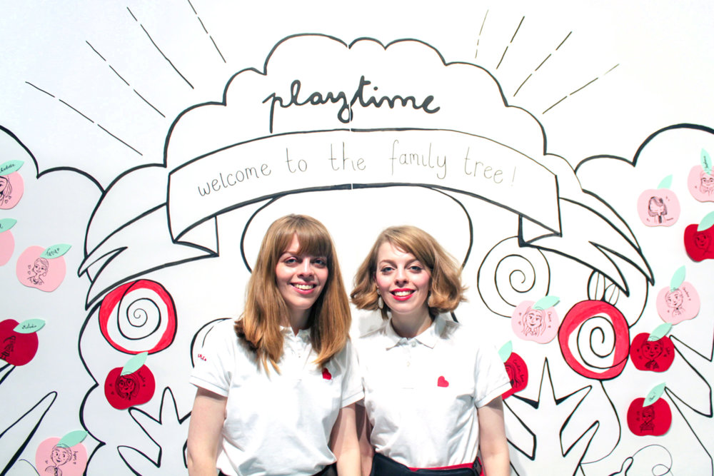 Playtime Paris - Illustration Mural Installation - Buttercrumble
