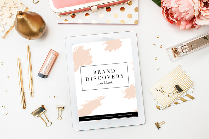 brand discovery workbook by neshadesigns.com