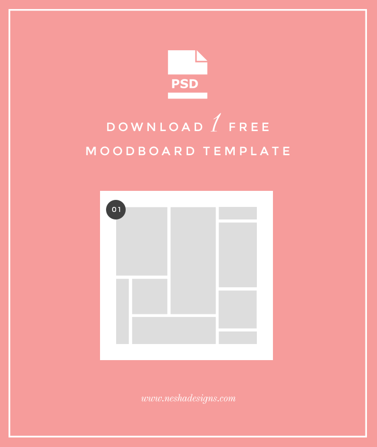 free moodboard template nesha designs. Black Bedroom Furniture Sets. Home Design Ideas