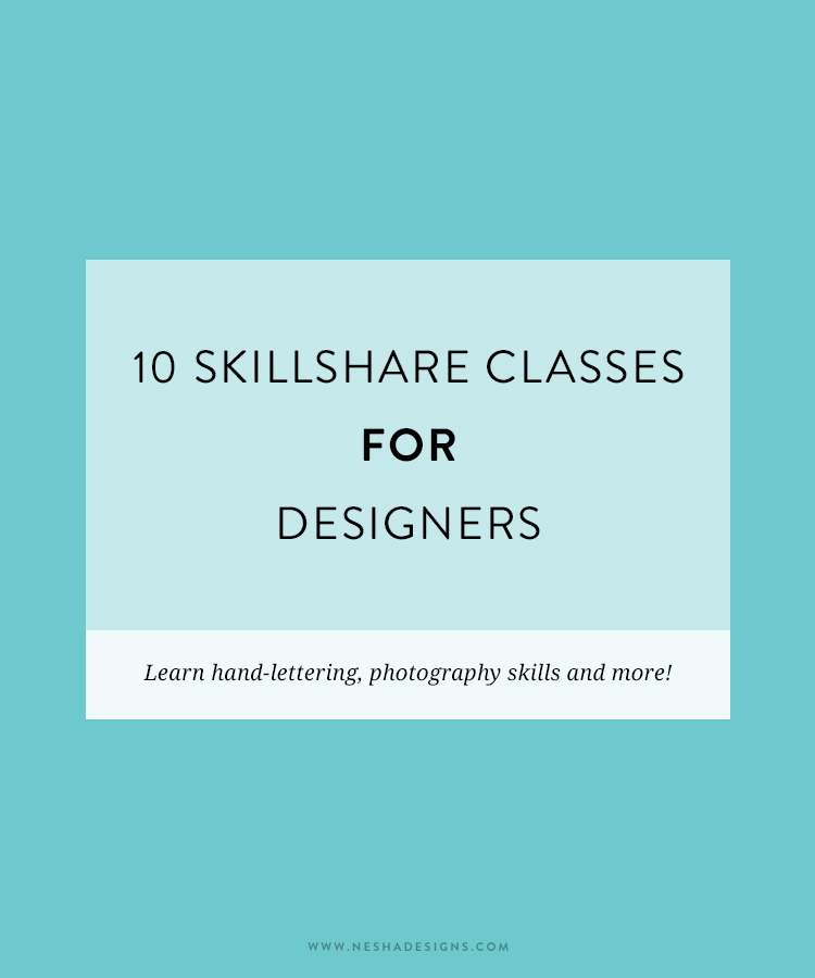10 skillshare classes for designers