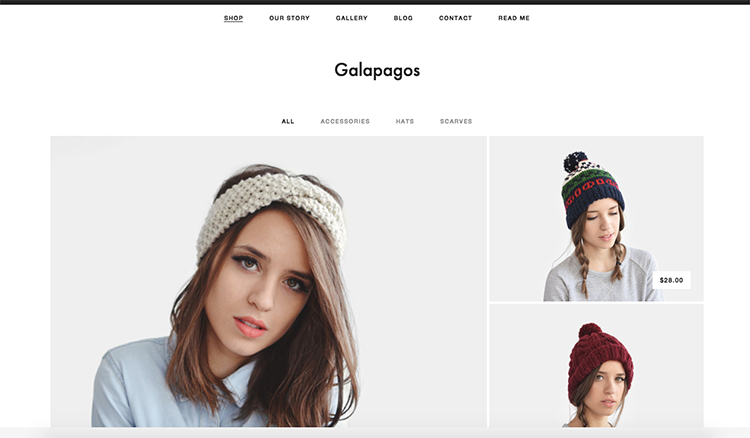 Choosing the right Squarespace template — Nesha Woolery