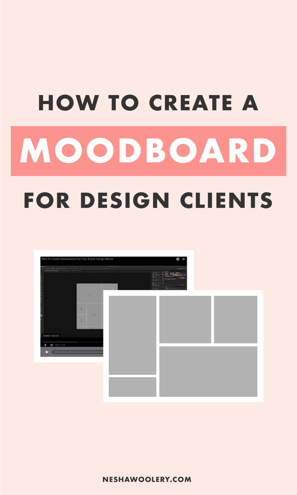 how to create a moodboard for your brand or web design clients