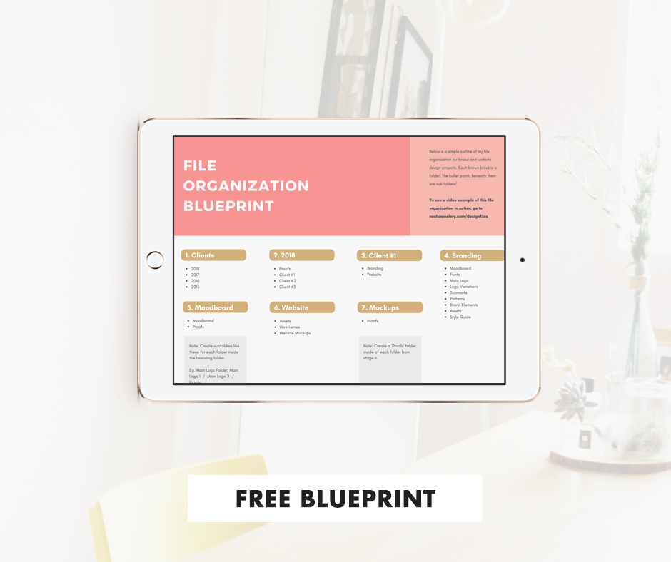 How To Organize Design Project Files by Nesha Woolery | Freelance designers, freelance writers, freelance photographers | Organize design project assets