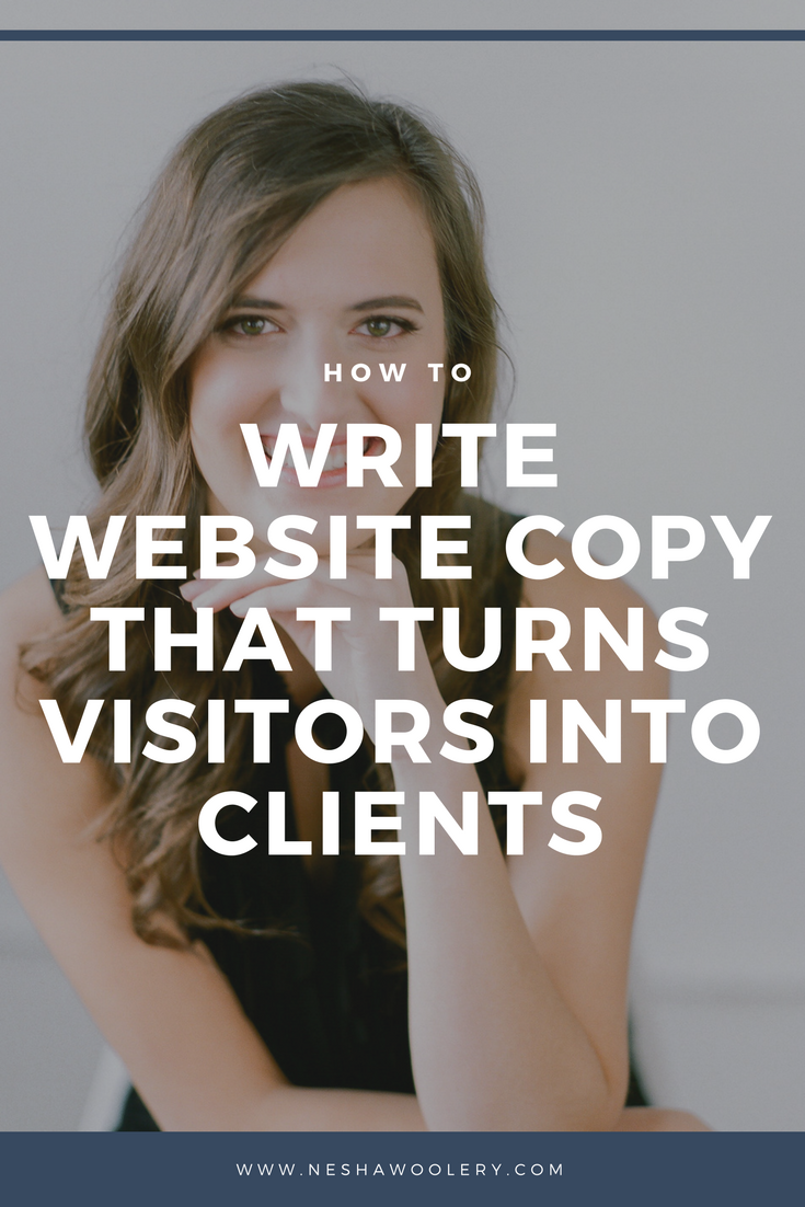 How to make an unforgettable impression with your website copy | Interview with kayla hollatz on neshawoolery.com