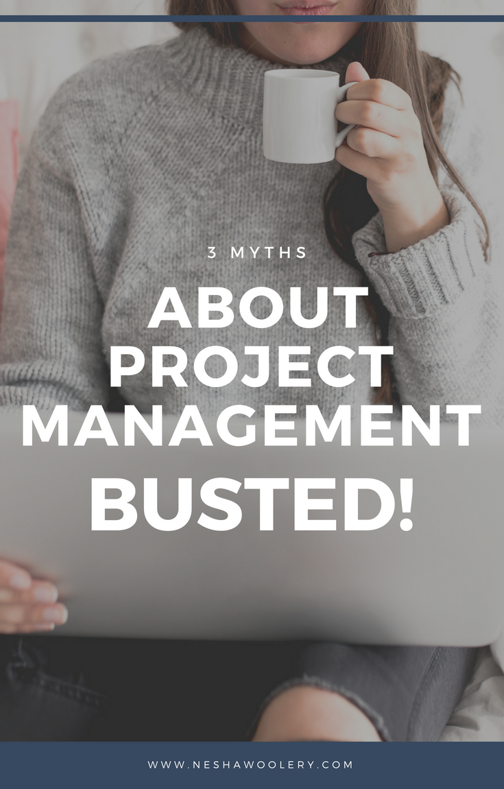 The 3 myths and beliefs about project management may be the things that are holding you back from simpler, less stressful projects. #Freelance, #Streamlining & Automating, #Project Management, #Myths, #Business, #Designers