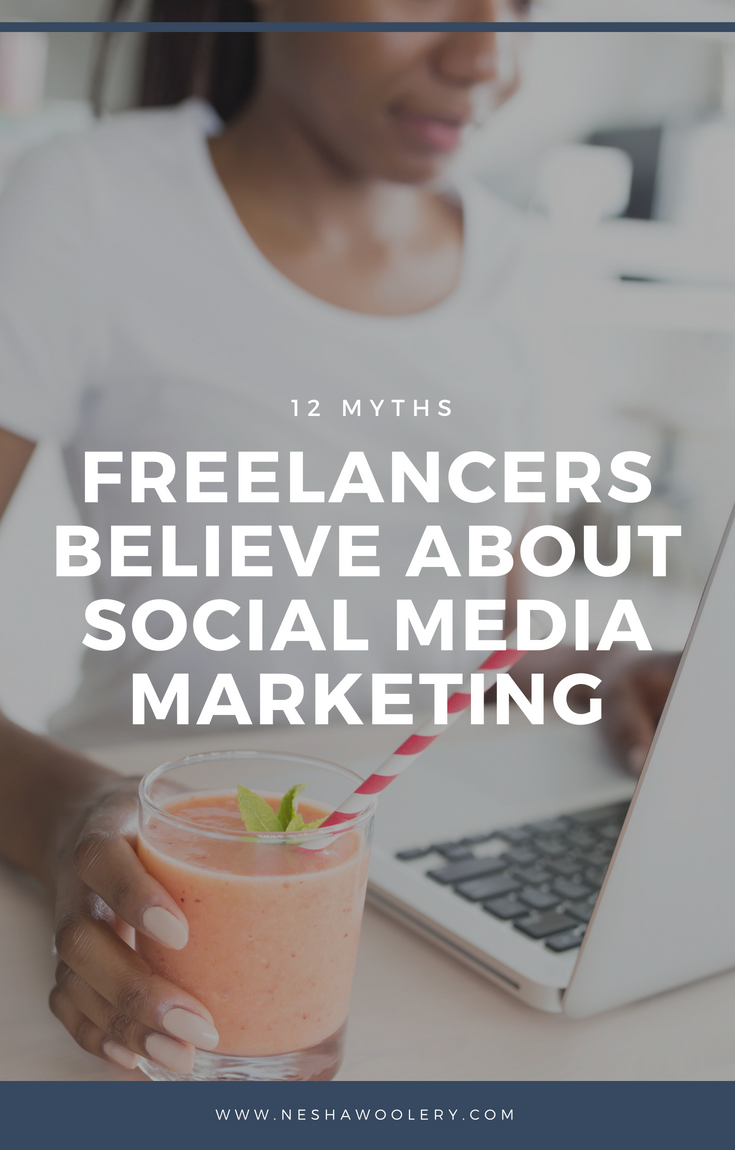 12 myths freelancers believe about social media marketing | So you struggle to find clients through social media and you've given up. But maybe you weren't trying the right techniques? Maybe these myths were in your way? Find out more by clicking through! :) #Freelance, #Marketing, #Social Media Marketing, #Designers, #Freelancers