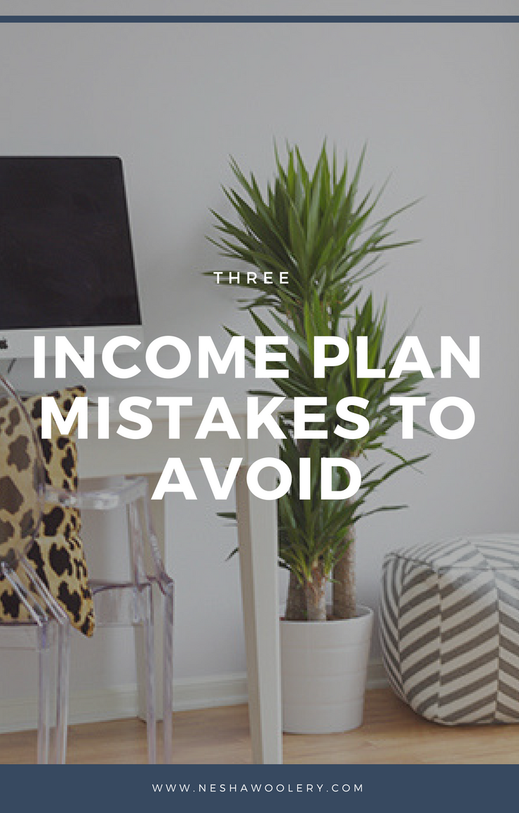 Does the thought of creating a business plan / income plan make your head hurt? That's because you're making these 3 BIG mistakes. Once you understand the mistakes you're making and rectify them, your income plan will help you level up your business QUICKLY. Click through to learn 3 income plan mistakes to avoid & download a free worksheet! #Freelance #Planning #Business #Income #Designers #Startfreelancing