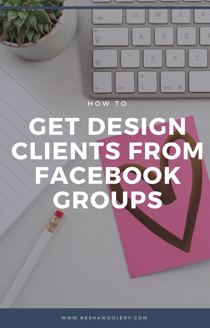 The first step in finding clients on social media is finding a platform that will work best for you. Click on this pin to find out why I think Facebook groups are the best to grow your business! #Freelancers #Business #Designers #Marketing #Socialmedia #Facebook #Groups