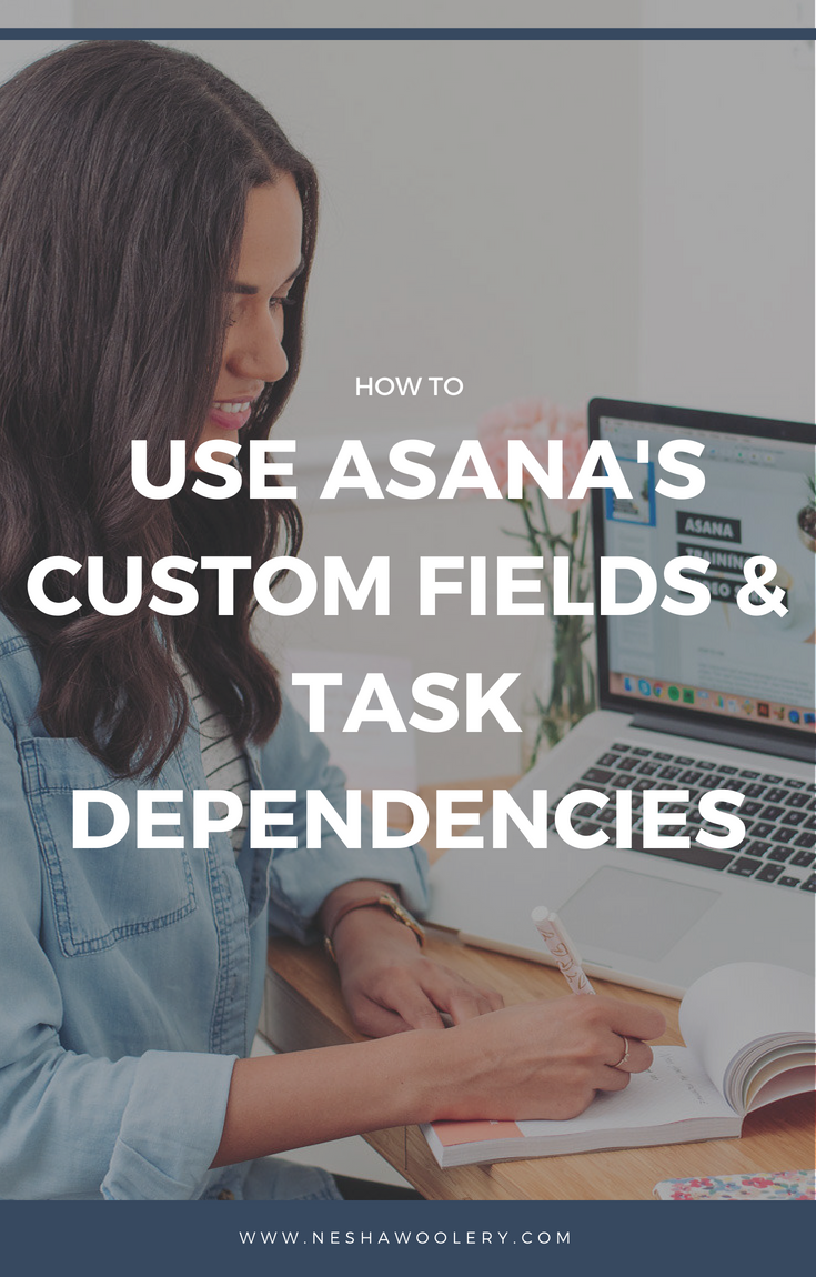 Just click on this pin right here to read a special guest post by the lovely, business systems pro Indigo Colton! Indigo will teach you how to use Asana's custom fields and task dependencies to stay on top of your design projects! Yay! Luck you. #Freelance #Business #Streamlining & Automating #Guestpost #Asana