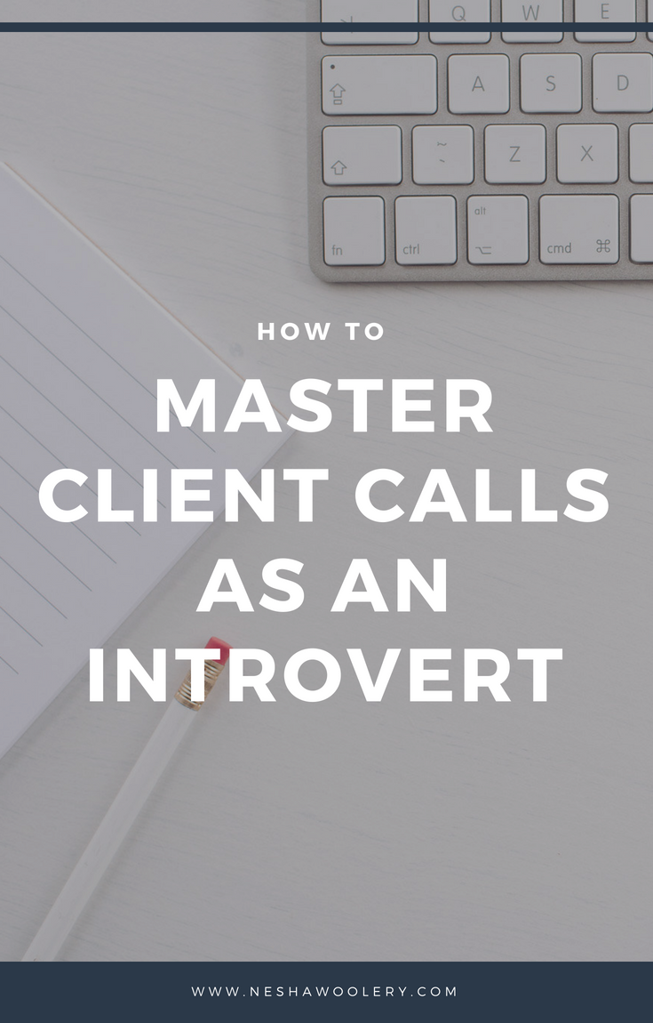 How to master client consultations as an introvert | By Nesha Woolery | 10 tips to help creative freelancers have successful client consultations