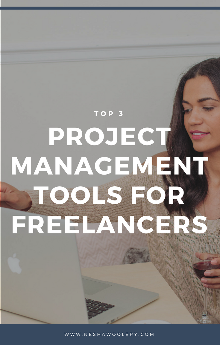 No need to stress anymore because I'm going to show you the top three project management tools for freelance designers. Click on this pin to find out more! #Freelance #Business #Designers #Streamlining & Automating #Projectmanagement