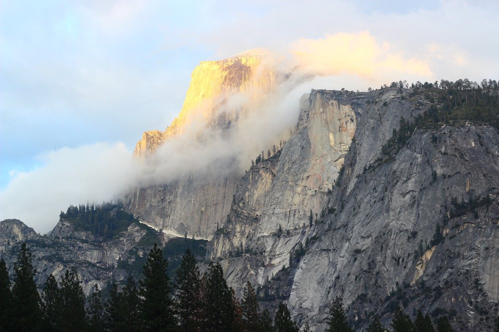 Golden Peaks  Yosemite - 2016
