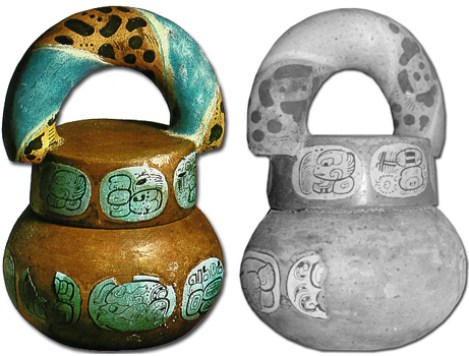 Similar traditions were already found in the Aztec and Mayan populations where clay pots filled with goodies were broken open with clubs.
