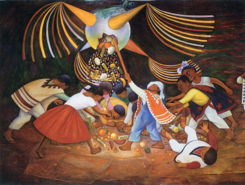 Diego Rivera's The Piñata