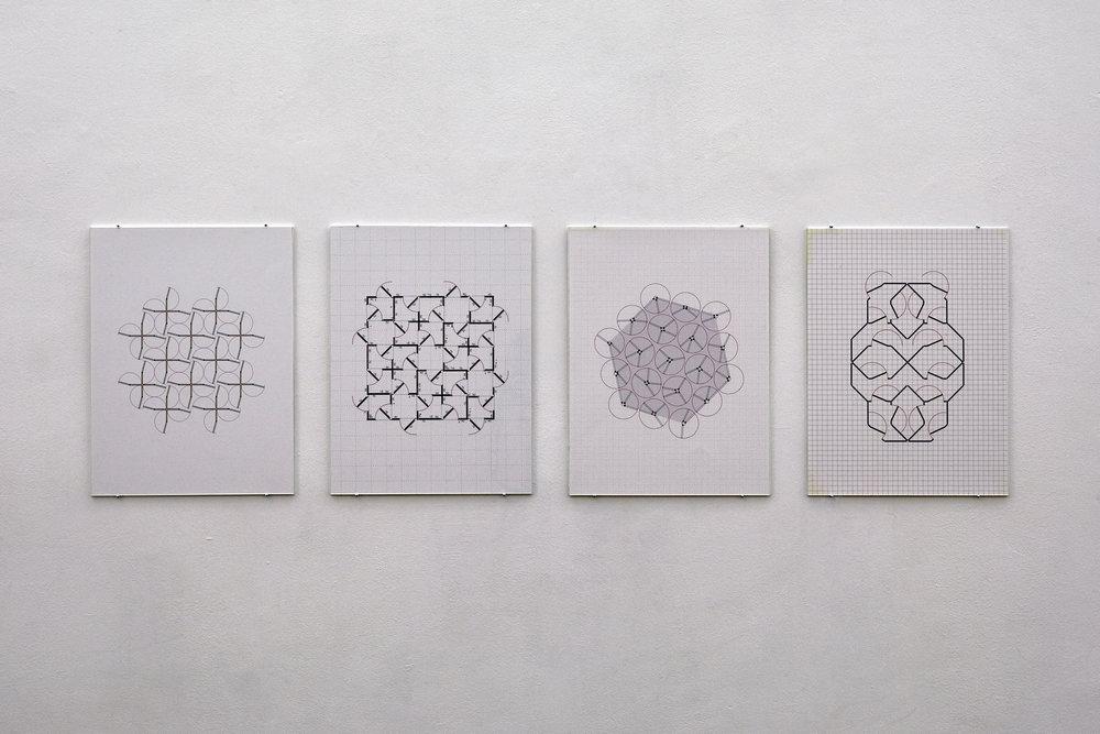 08_InstallationView_Franka_Hörnschemeyer_Konditional (2006), Relais (2007), Blindtext (2009), Lasound (2008).JPG