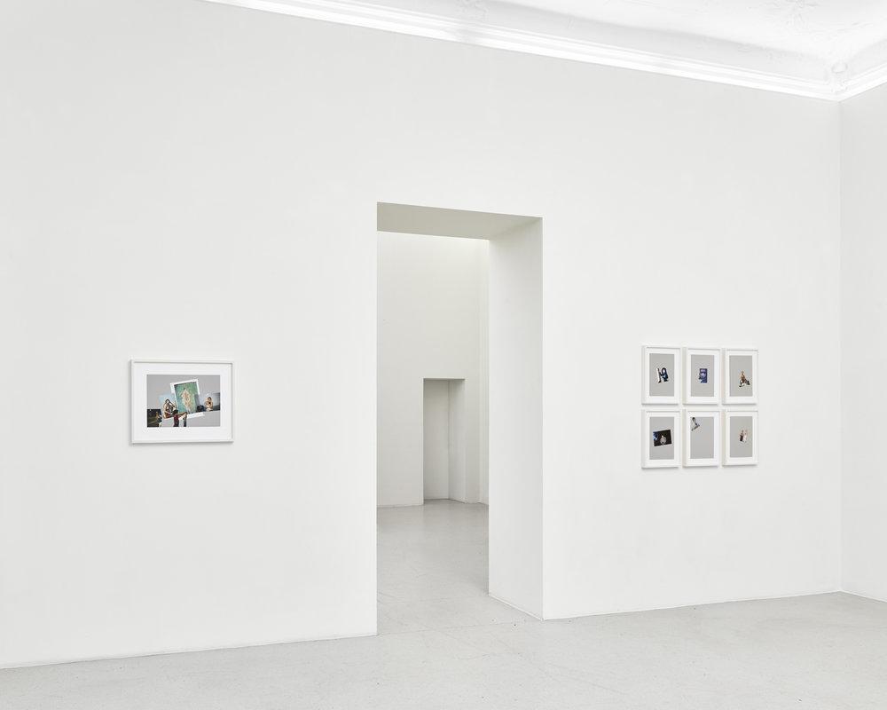 Zu Gast (5): satisfy me – Arbeiten aus der Sammlung Wemöner, Installationsansicht, KUNSTSAELE Berlin 2018, Photo: ©def_image.