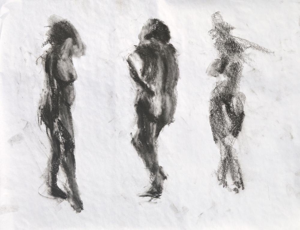 Standing figures 1