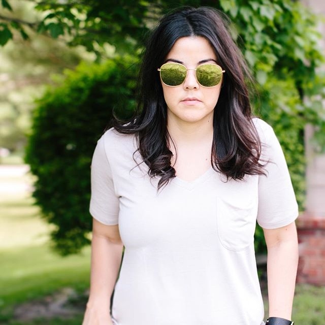 You guys, I have a problem: I like sunglasses that make me look mad. 😎 The madder and meaner the better.  The problem is, I end up looking like if John Lennon, Howard Stern, and Michael Jackson all got together and had a baby. 🤦🏻‍♀️ I meannnn, am I Right or am I Right?? And why can't my celebrity look-alike ever be a woman...and my age...and a woman?? 🙈