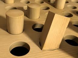 Square hole