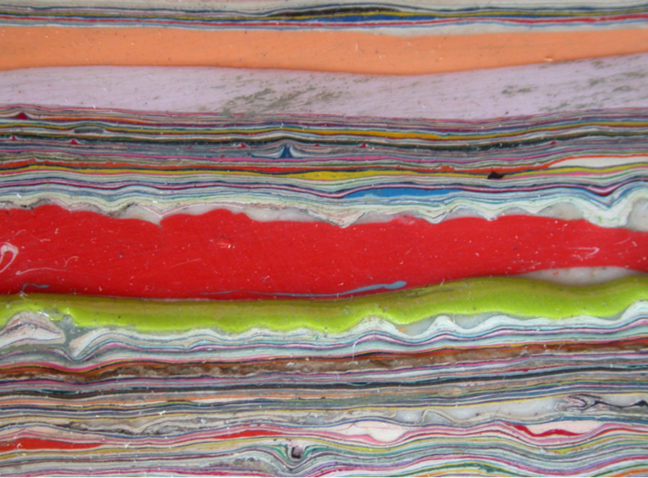 Paint on Canvas #5 (Detail)