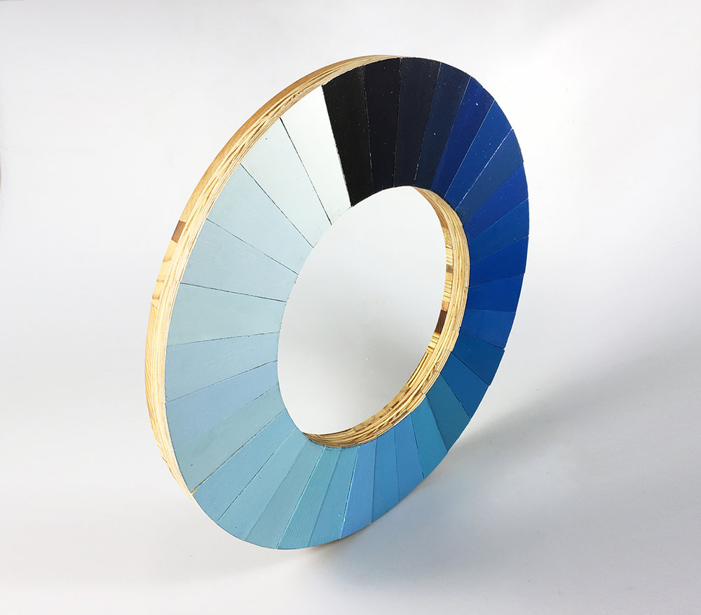 Cyanometer for Arnold Mesches (2017)
