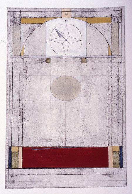 Proscenium (northwest)