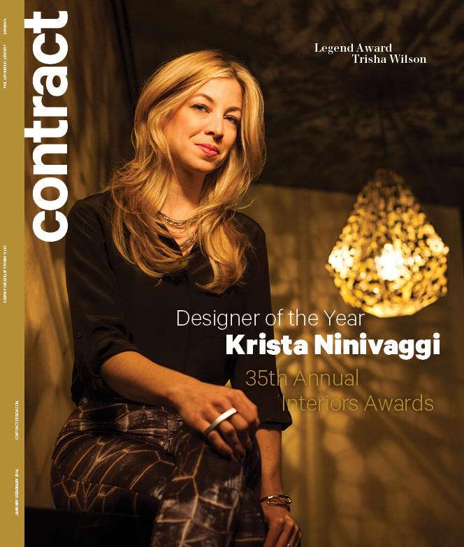 Contract Magazine, Krista Ninivaggi, Designer of the Year, 2014