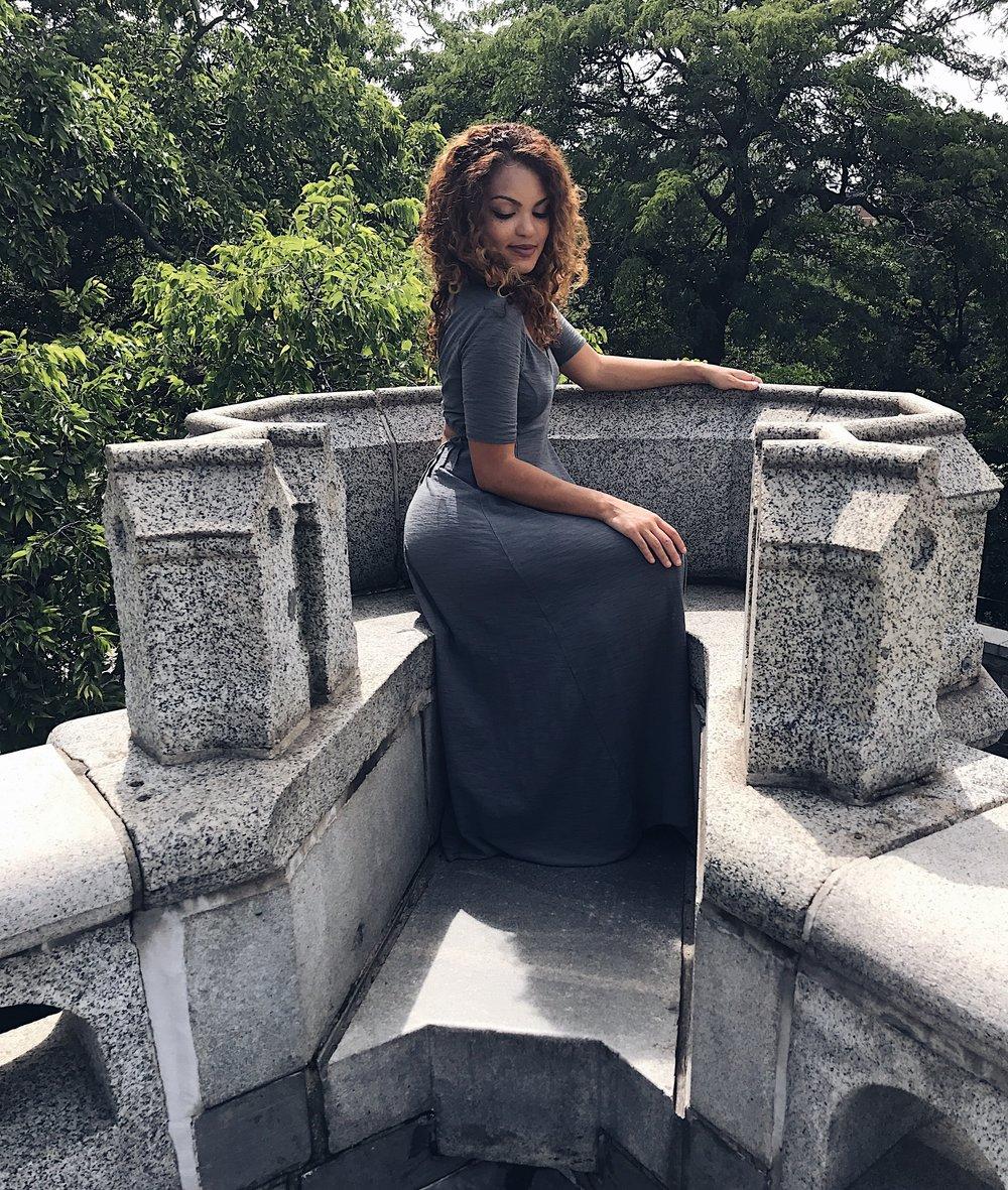 castle dress