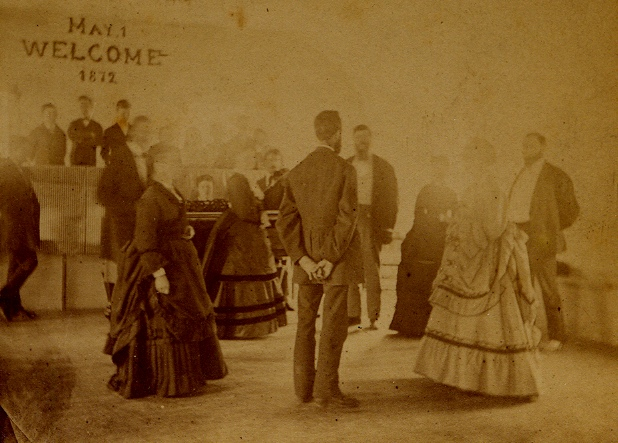 Quadrille at Enfield, New York (1872) accompanied with fiddle and piano (Personal collection)