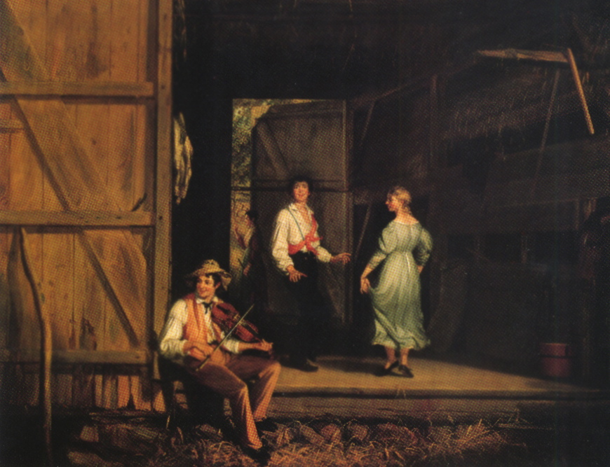 Dancing on the Barn Floor (William Sidney Mount 1831)