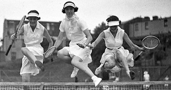 Masha, Olga and Irina shortly after Wimbleton.