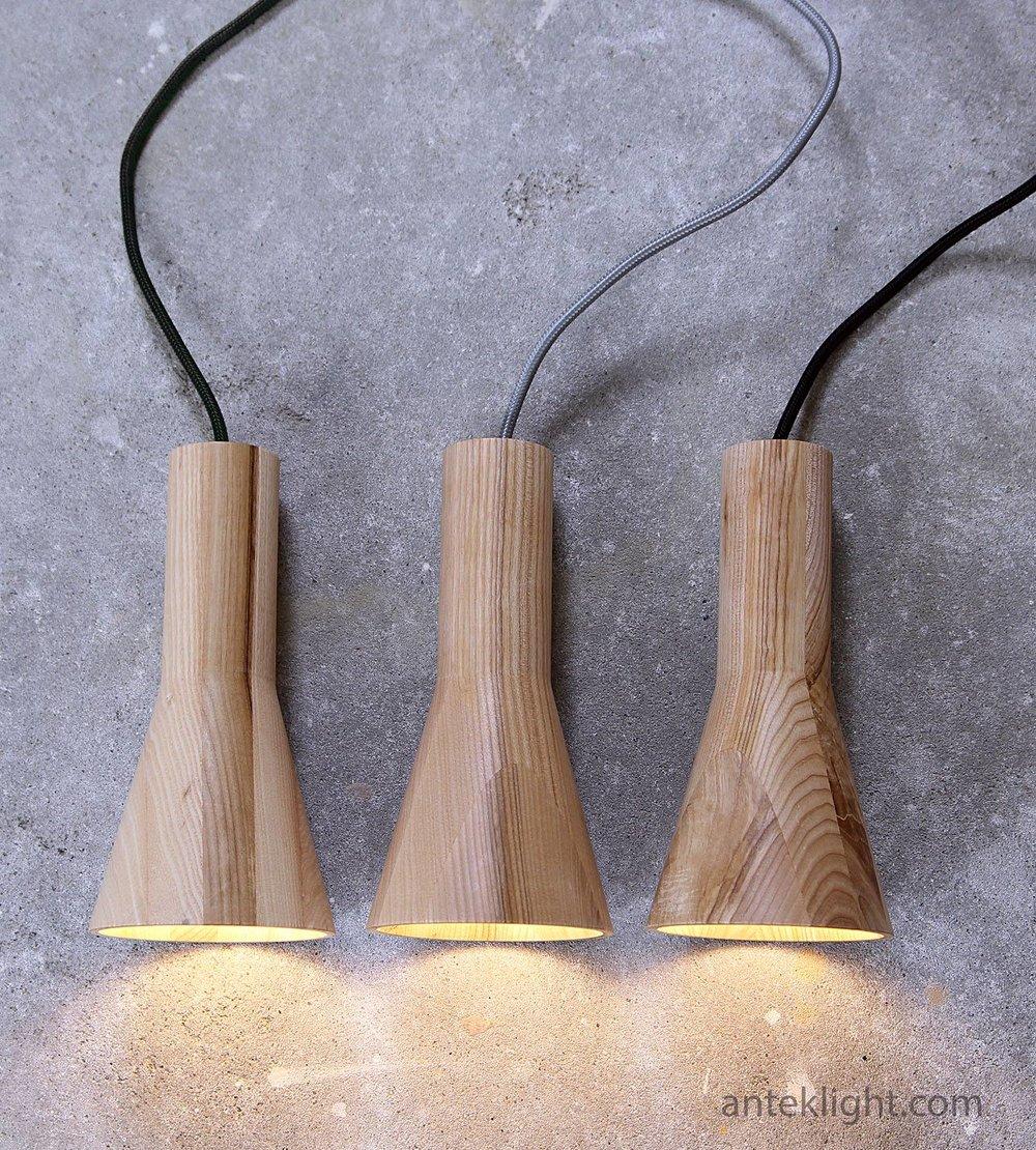 Anteklight wooden lamps