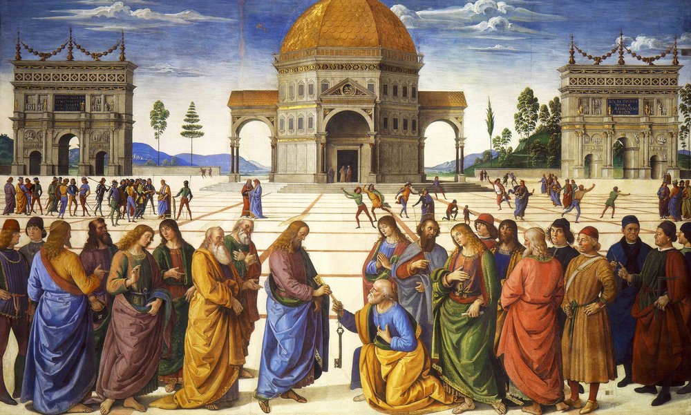 Pietro Perugino_Delivery of the Keys