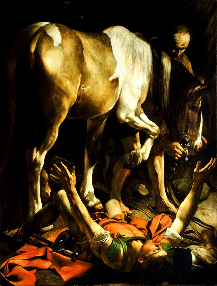 Caravaggio_Conversion on the Way to Damascus