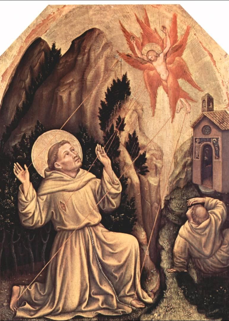 Gentile da Fabriano, St. Francis Receiving Stigma