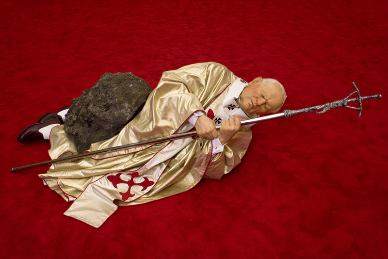 Maurizio Cattelan, The 9th Hour