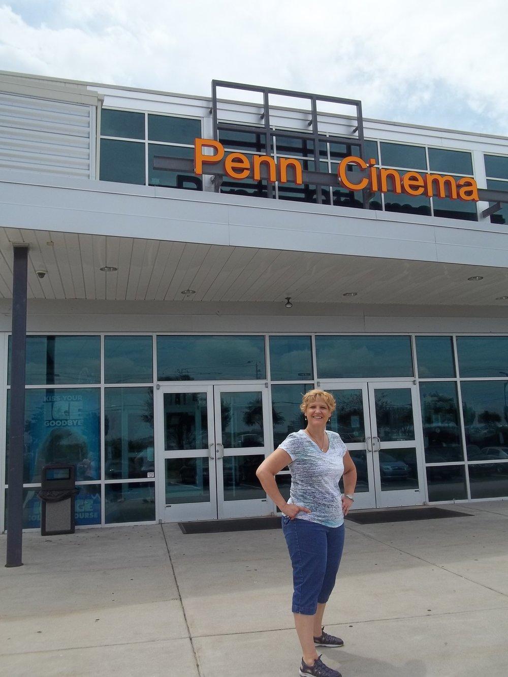 RR at Penn Cinema Entrance.JPG