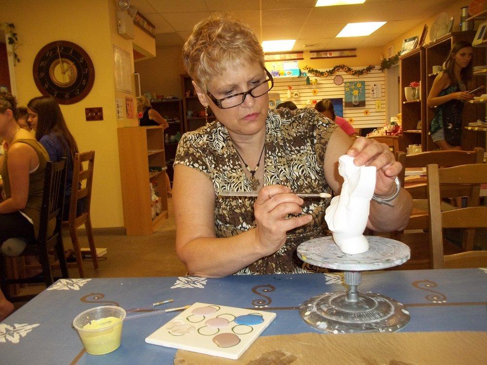 RR Jens Pottery Den still painting Moon Fairy.JPG