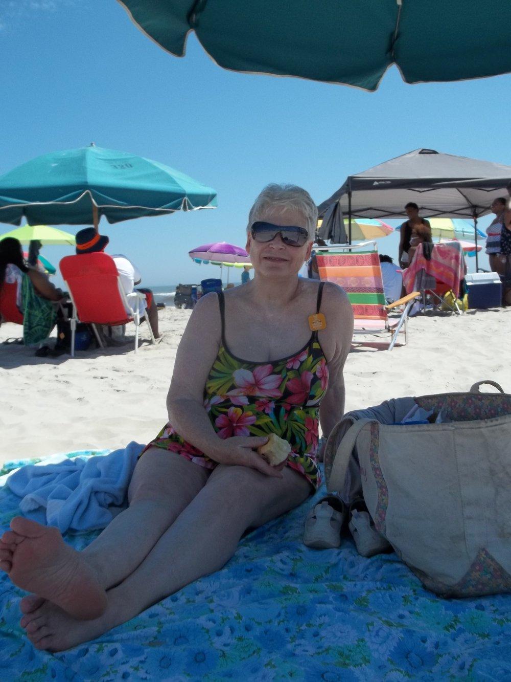 RR OC, NJ Mom on Beach.JPG