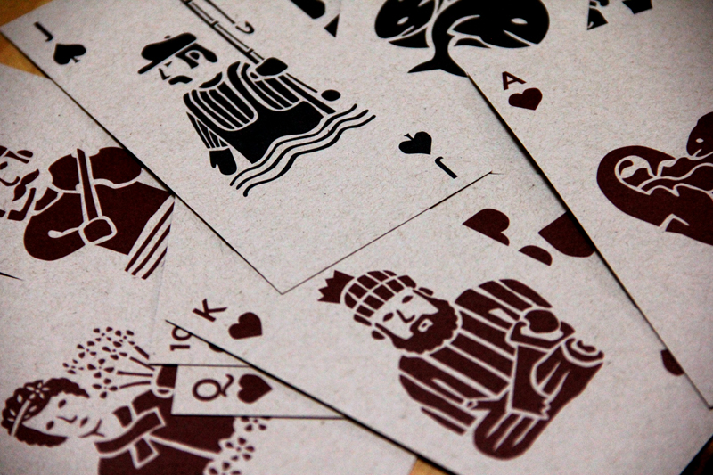 Playing cards / Illustration by Dan Perrella